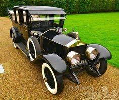 "1924 Rolls-Royce Silver Ghost Canterbury Landaulette ~ Miks' Pics ""Rolls-Royce"" board @ http://www.pinterest.com/msmgish/rolls-royce/"