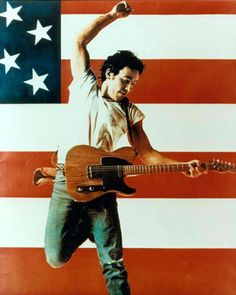Listen to Bruce Springsteen Radio, free! Stream songs by Bruce Springsteen & similar artists plus get the latest info on Bruce Springsteen! Bruce Springsteen, Springsteen Concert, 80s Music, Rock Music, Pop Rock, Rock And Roll, Playlists, Elvis Presley, Woodstock