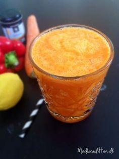 Boost dit immunforsvar med denne juice - gulerod peberfrugt ingefær