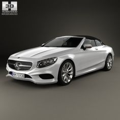 Mercedes-Benz S-class cabriolet 2014 3D Model .max .c4d .obj .3ds .fbx .lwo .stl @3DExport.com by humster3D