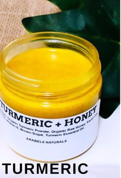 This Turmeric and Honey Mask is made with Raw Unrefined Honey. This Turmeric Mask is formulated for acne, dry skin, hyperpigmentation and dark spots. All ingredients are amazing at keeping your skin supple, and helps with dark spots. This mask is . Turmeric And Honey, Turmeric Soap, Turmeric Face Mask, Organic Raw Honey, Organic Oil, Brown Spots On Face, Dark Spots, Turmeric Essential Oil, Unscented Soap