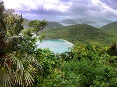 st john  purple skies lush tropics pristine waters  www.caribbeanweddingevents.com