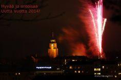 New Year celebrations in Lahti, Finland 31.12. 2013   Kuvakuja.fi (by Juha Nikula)
