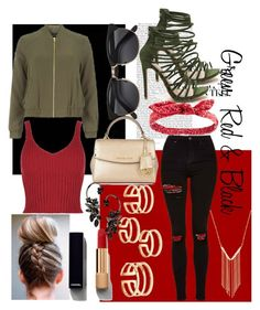 """""""Just Go out!;)"""" by ket0-swag ❤ liked on Polyvore featuring Dorothy Perkins, Topshop, MICHAEL Michael Kors, H&M, Charlotte Russe, Gemelli, Chanel and Roberto Cavalli"""