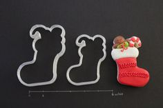 Christmas Stocking Cookie Cutters  Large by CreativeCookieCutter, $10.00