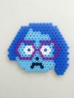 "Inside out ""sadness"" nabbi beads/perler beads/ hama beads"
