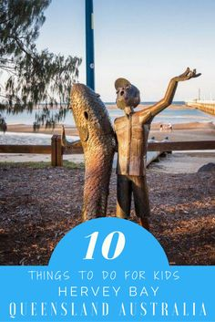 10 things to do in Hervey Bay for kids. Hervey Bay has a reputation for being a sleepy retirement zone with not much to offer anyone slightly younger, more active or adventurous. Australia Travel Guide, Australia Trip, Visit Australia, Travel Couple, Family Travel, Travel Guides, Travel Hacks, Travel Tips, Stuff To Do