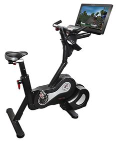 Expresso Excersice Upright Bike for interactive indoor cycling experience.