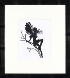 Little Fairy Silhouette - Cross Stitch Kit