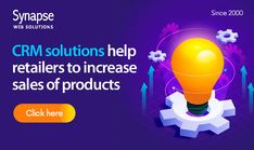 A single step to increase sales of your ONLINE RETAIL BUSINESS.   Avail CRM SOLUTIONS to understand customers requirements at first hand.   SynapseWebSolutions is here to offer result-oriented technology services. Resource Management, Increase Sales, Software Development, Retail, Technology, Business, Tech, Tecnologia, Store