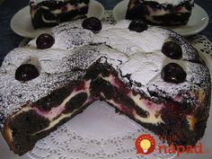 Čokoláda, tvaroh a višne – stačí spojiť a máte perfektný dezert ku kávičke, alebo tortu pre oslávenca.