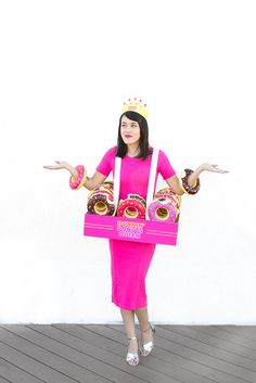 DIY Donut King & Queen Halloween Costume