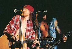 Guns N' Roses -Axl Rose & Slash. (Probably Dead Horse)