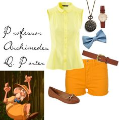 1000 images about polyvore on pinterest robin hoods for Professor archimedes q porter