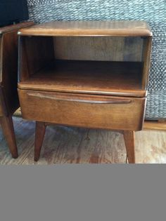 heywood wakefield encore mid century champagne nightstand chest night stand wakefield night stand and nightstands