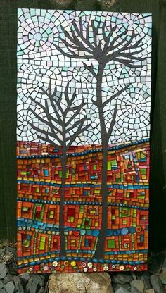 Mosaic Diy Crafts Projects Tiles Artwork Mirror Gl Stained Art