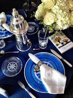 Nautical table - Trudy Dujardin
