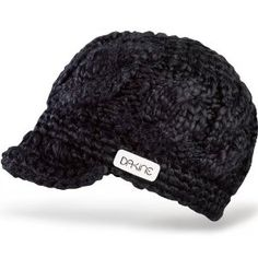 Dakine Girls Remix Beanie, Black by Dakine. $17.95. Soft visor. Ribbed jersey acrylic lining. Hand crocheted cable pattern. Acrylic roving yarn. Yarn. It's only 4 a.m., and your friends are talking about heading home. You're still reeling from waves of euphoria, and you feel like the only thing keeping your brains inside your skull is your DAKINE Remix beanie. Tell them to hit the road, and head for the DJ booth to shake your groove thing.Product FeaturesMaterial: acrylicRe...