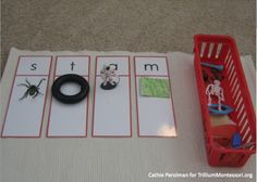 Cathie Perolman Initial Sound Sort- Good for introducing the letter and for working with reading