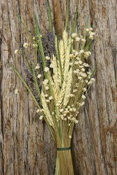 http://www.save-on-crafts.com/dried-bouquet-wheat-lavender-24.html bridesmaids Bouquet