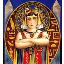 Cleopatra (1917) was an American silent historical drama film based on H. Rider Haggard's 1889 novel Cleopatra and the plays Cleopatre by Émile Moreau and Victorien Sardou and Antony and Cleopatra by William Shakespeare. The film starred Theda Bara in the title role, Fritz Leiber, Sr. as Julius Caesar, and Thurston Hall played Mark Antony. The film is now considered lost, with only fragments surviving.