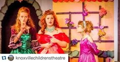 """#Repost @knoxvillechildrenstheatre  he local beauticians Margot and Kirsten (Grace Elyn Berry and Kylee Hines) tell the famous witch-hunter Mme. Vernon (Hallie Boring) how they happened to find their mysterious mirror in """"Snow White & Rose Red or Prince Ferris' Day Off"""" a fairy tale tribute to Everything 1980's. Performance at 7 PM tonight at Knoxville Children's Theatre.. Visit http://ift.tt/1srfqsh #knoxvillechildrenstheatre #knoxvilletn #ilovelocalknoxville"""