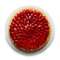 Felicity Cloake's strawberry tart.