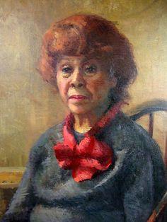 Original Oil Painting Portrait of Mimi 1978 by Frank Goddard NY | eBay