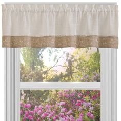 Achim Oakwood Window Curtain Valance - Free Shipping On Orders Over $45 - Overstock.com - 18678883 - Mobile
