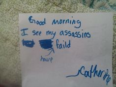 Funny kids notes