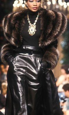 Fur Fashion, Couture Fashion, Daily Fashion, Runway Fashion, Haute Couture Style, High Fashion, Fashion Outfits, Womens Fashion, Fashion Trends