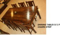 Handmade Solid Rosewood Rectangular Dining Table Dining Room Furniture Sets, Outdoor Furniture, Outdoor Decor, Kitchens, Dining Table, Chair, Glass, Handmade, Home Decor