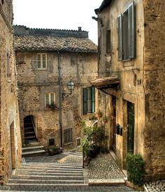 Ancient Village, Roccantica, Italy