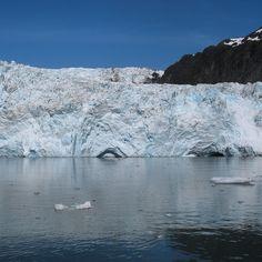 Holgate Glacier in Kenai Fjords NP, Alaska