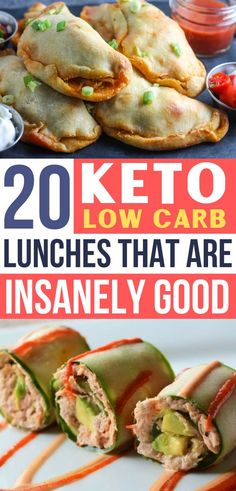 Best Low Carb Lunch Ideas For Your Keto Diet These ketogenic lunches are the BEST! You won't get bored of these healthy low carb lunch recipes for your keto diet! 21 LowFast and Easy Keto Packable Keto Lunch Re Cetogenic Diet, Lchf Diet, Paleo Diet, Diet Menu, Diet Detox, Ketosis Diet, Egg Diet, Diet Coke, Diet Recipes