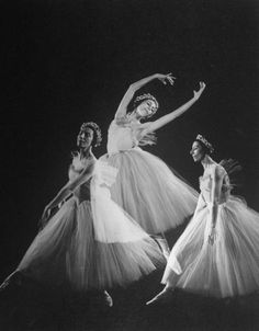 Triple exposure of ballerina Alicia Markova of the American Ballet Theater dancing the title role of Giselle. Location:	New York, NY, US Date taken:	1944 Photographer:	Gjon Mili