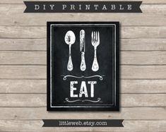 Eat & Drink Printables Chalkboard Art by LittleWebWritingHood Chakra Books, Chalkboard Art, Wine Recipes, Food Art, Printables, Art Prints, Eat, Wine Food, Kitchen