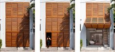 Townhouse with a Folding-Up Shutter by MM   architects (4)