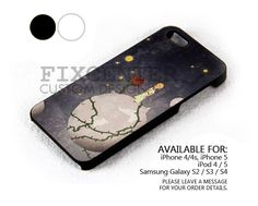 The little prince birds case for iPhone 4/4S/5 iPod 4/5 Galaxy S2/S3/S4
