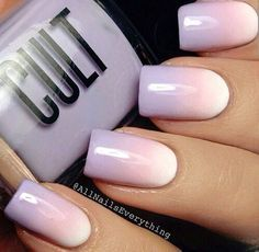 Nail art is a very popular trend these days and every woman you meet seems to have beautiful nails. It used to be that women would just go get a manicure or pedicure to get their nails trimmed and shaped with just a few coats of plain nail polish. Nails Yellow, Pink Nails, Pastel Nails, Light Purple Nails, Trendy Nails, Cute Nails, Ongles Roses Clairs, Nail Manicure, Nail Polish