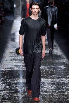 Fendi Spring 2016 Menswear Fashion Show - Piero Mendez