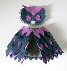 1 Owl Owl Costume: Still looking for a Halloween costume for your kiddo? Here's an easy way to turn a t-shirt into an owl costume in a couple of hours without any. Last Minute Halloween Costumes, Halloween Kostüm, Holidays Halloween, Homemade Halloween, Couple Halloween, Owl Costume Diy, Owl Fancy Dress Costume, Toddler Owl Costume, Costume Ideas