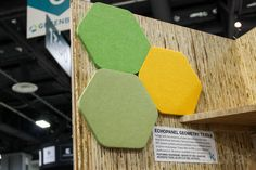 Beautiful sound-absorbing EchoPanels are made from recycled plastic bottles
