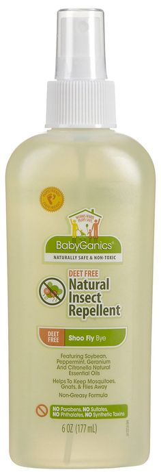 DEET-free natural insect repellent
