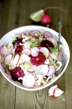 Fennel Salad with Blood Oranges!