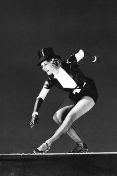 "wehadfacesthen: "" oldtimesgaze: "" Eleanor Powell, 1930s "" A powerhouse dancer, she left even Fred Astaire in the dust. """