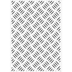 KaiserCraft Embossing Folder Checker Plate 10.6cm x 15cm FREE SHIPPING