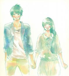 Karuho Shiina, Kimi ni Todoke, Sawako Kuronuma, Shouta Kazehaya, Manga Cover