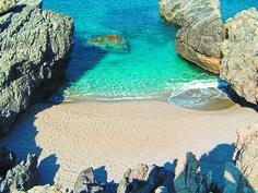Ammoudaki beach, Rethymno - Crete, Greece. Crystal clear water, scuba diving was absolutely fantastic!