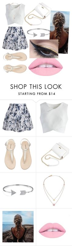 """""""Summer"""" by colleen-culp on Polyvore featuring Olive + Oak, Chicwish, Bling Jewelry, Michael Kors and Mehron"""